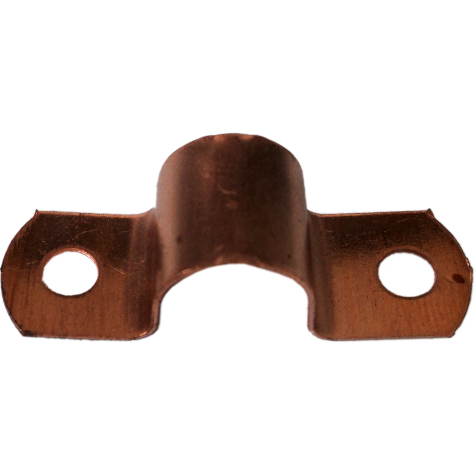 Copper Saddle Clips 6mm