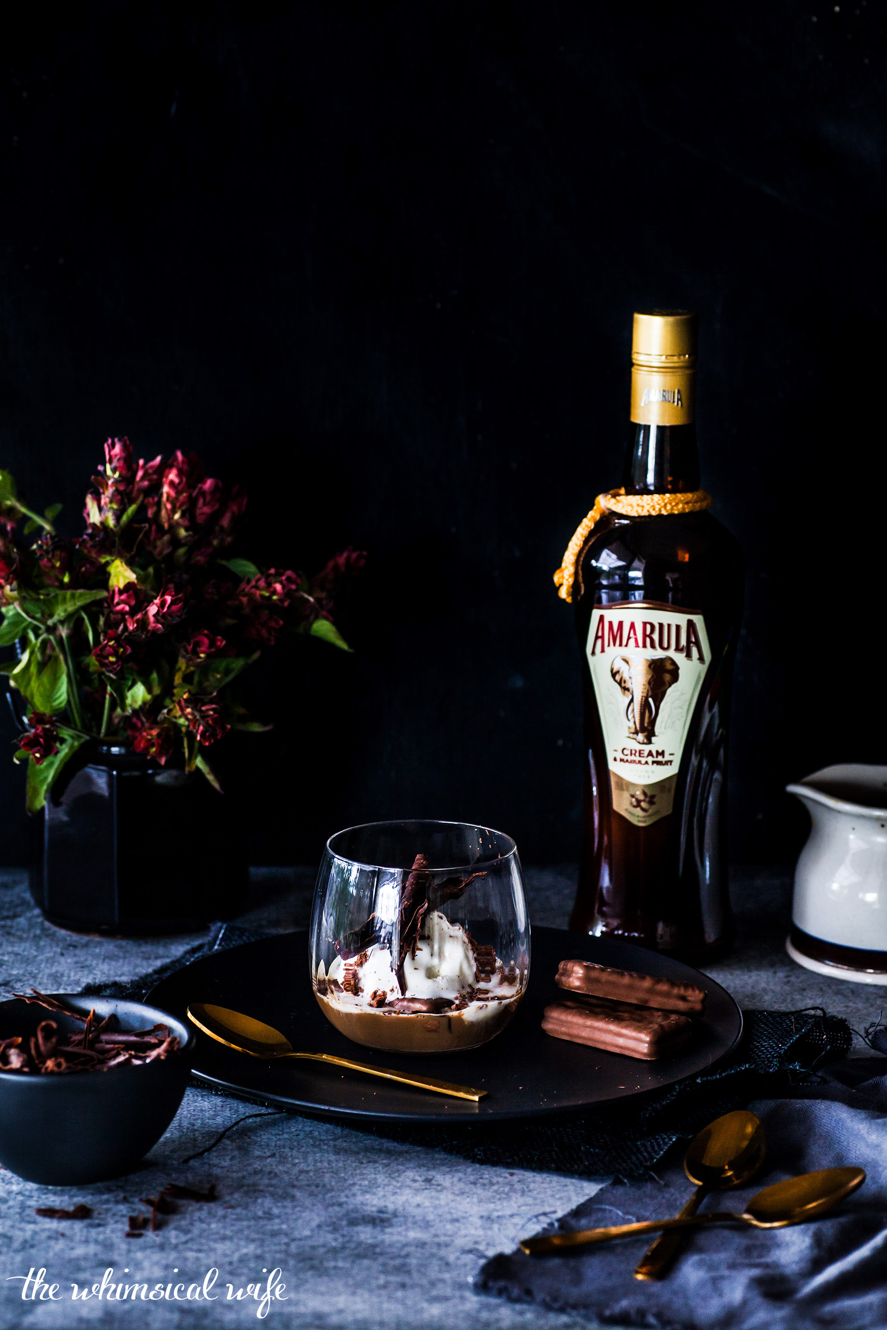 Tim Tam Affogato with Amarula | The Whimsical Wife