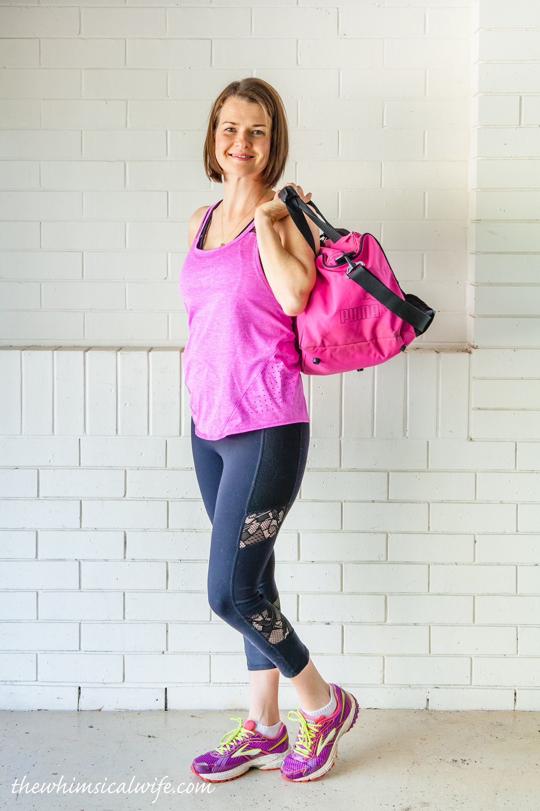 5 Essentials I Keep In My Gym Bag   The Whimsical Wife