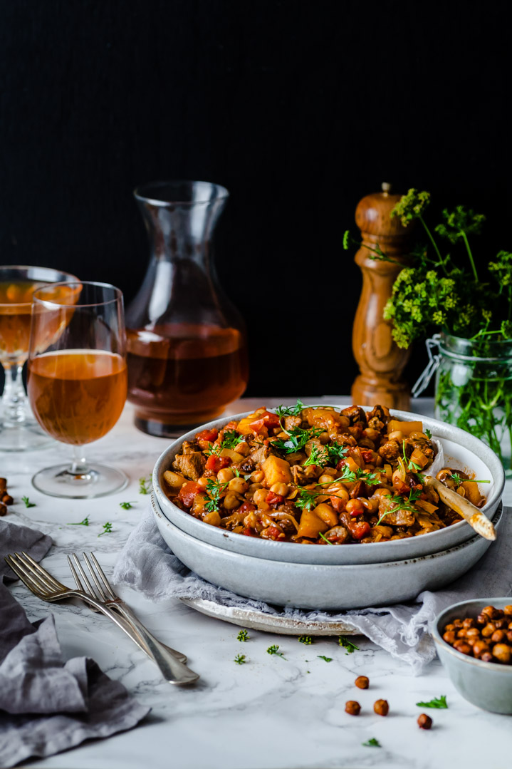 Easy Healthy Lamb & Chickpea Curry | The Whimsical Wife
