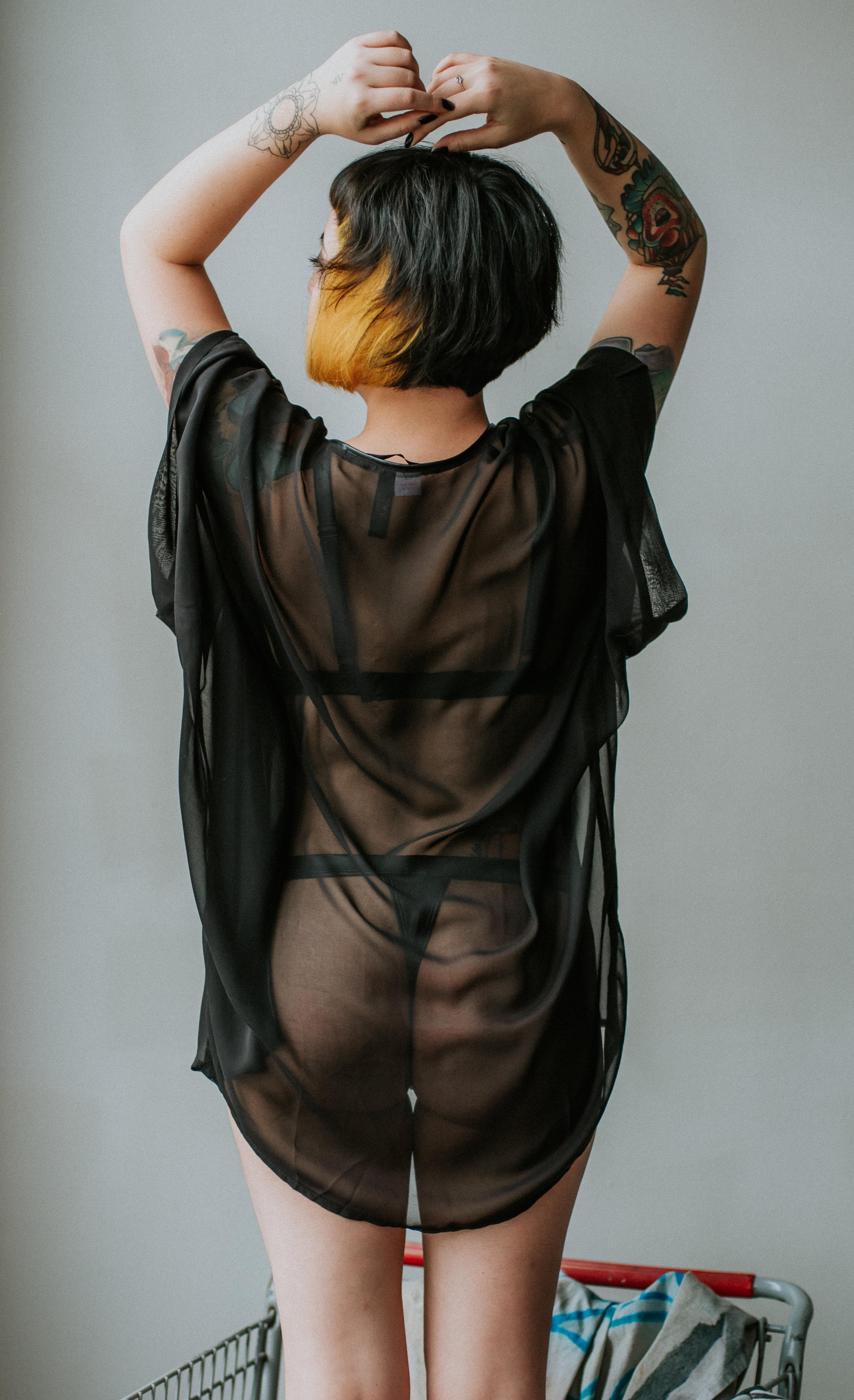 Self acceptance sensual boudoir photography in Dallas