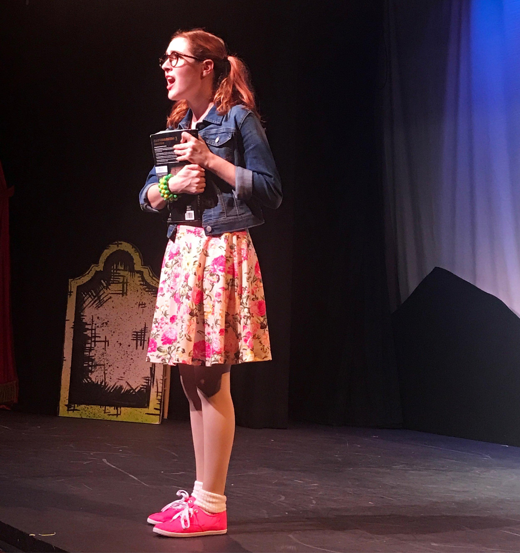 Sarabeth in Kid Frankenstein Off-Bway