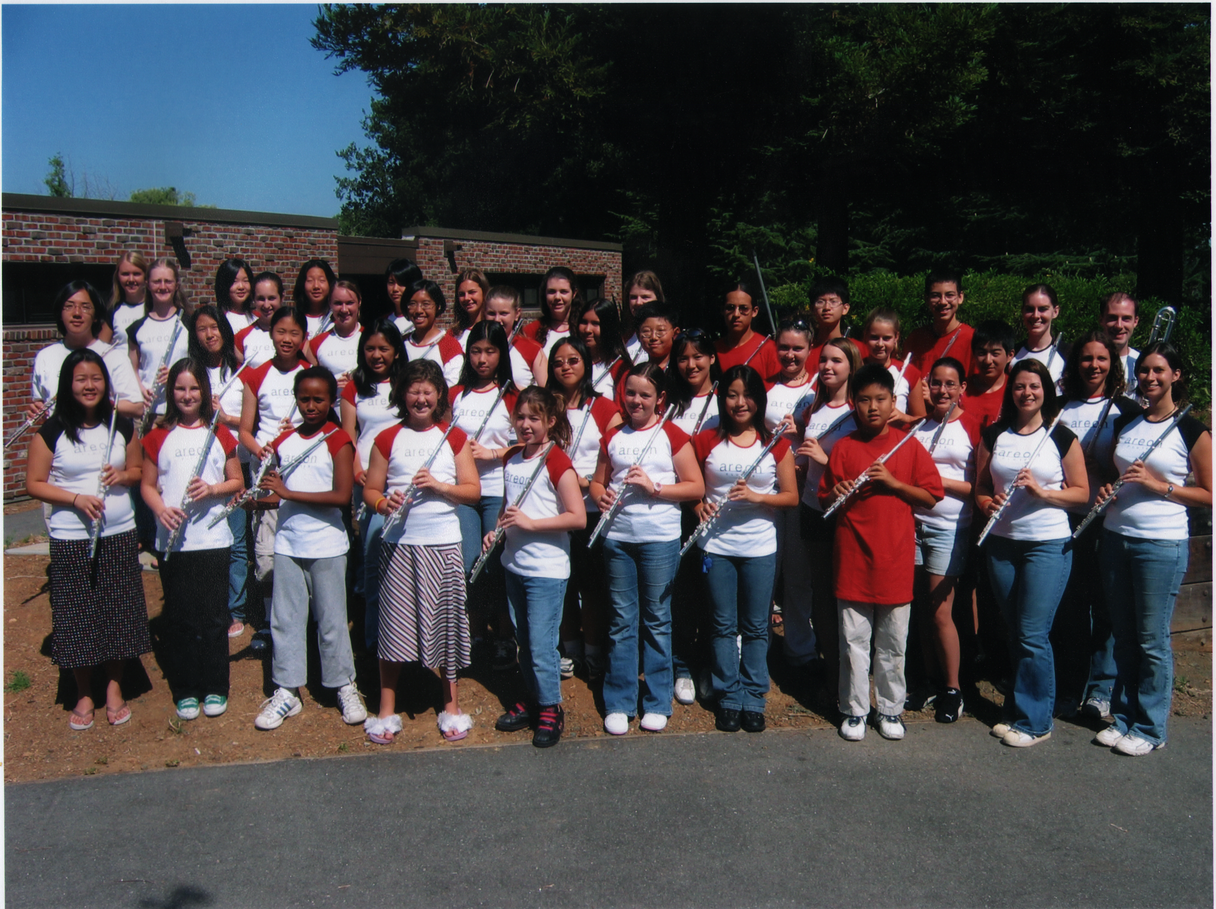 The first annual Areon Summer Flute Institute!