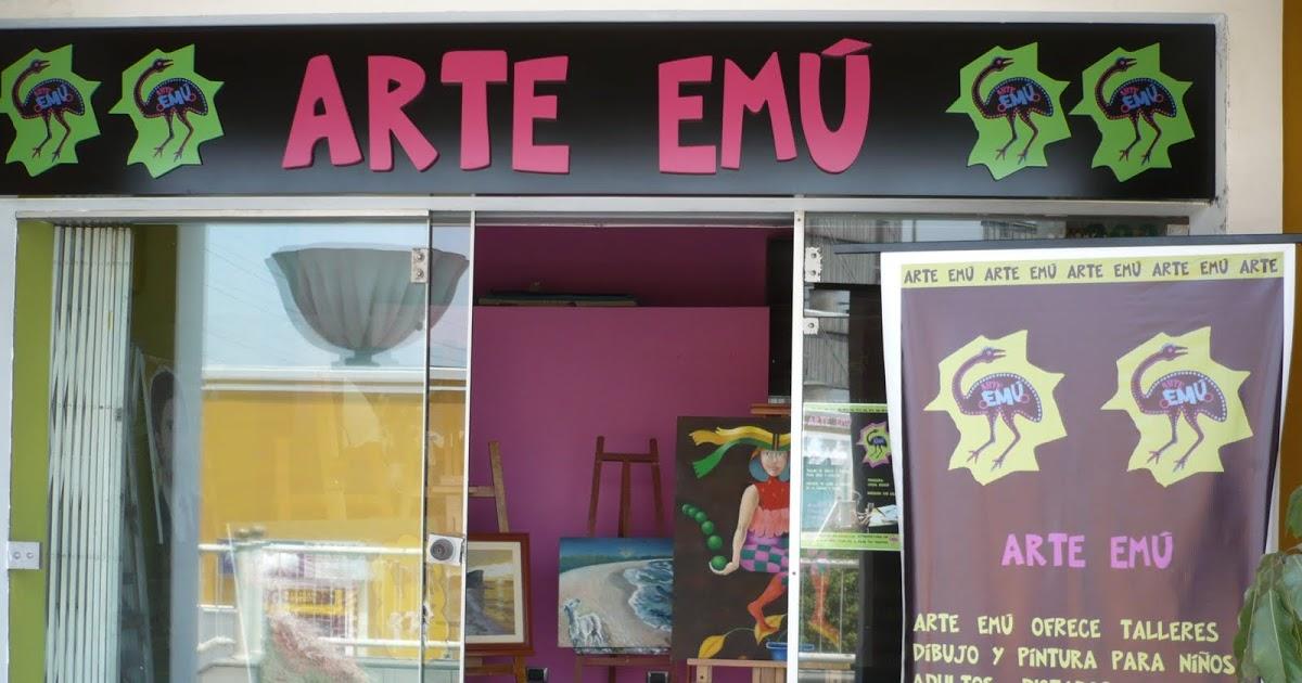 ARTE EMÚ: Art Workshop own by Ximena Heraud.