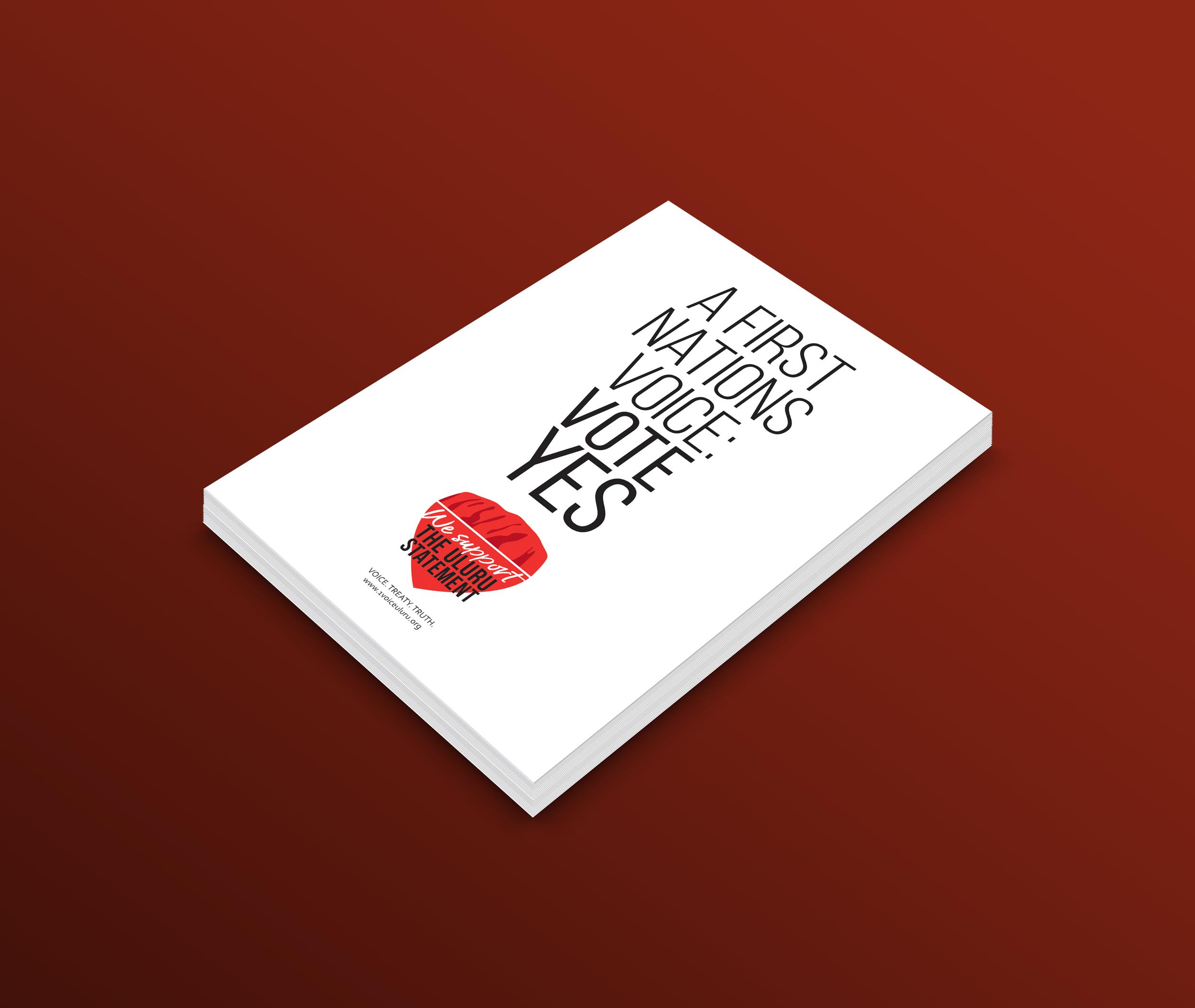 1 Voice UluruA6 Postcards -