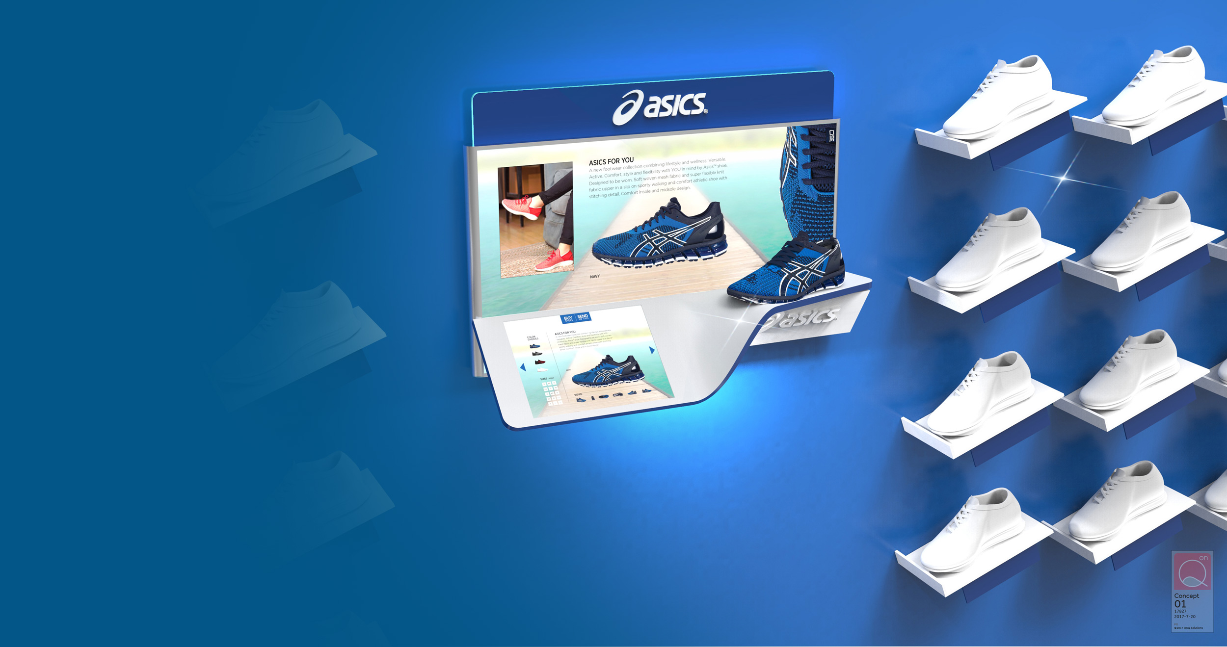 ASICS CONCEPT DISPLAY -