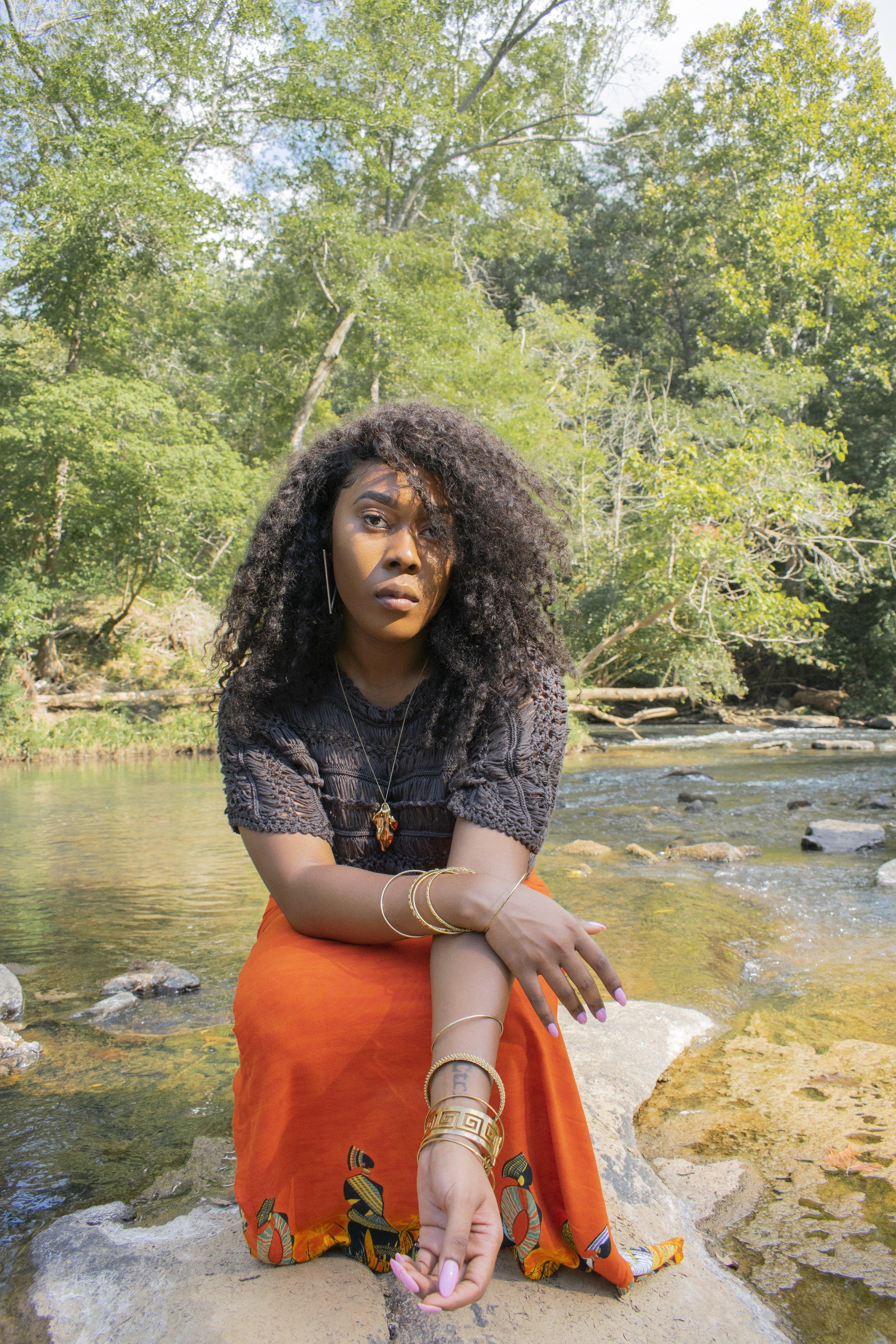 Communing with nature and evoking diaspora with Chioma Iyizoba.