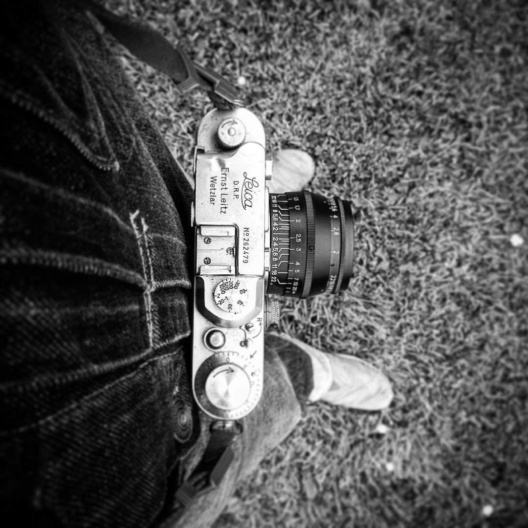 #Leica, #Jupiter and #doubledenim. What are you sporting today?