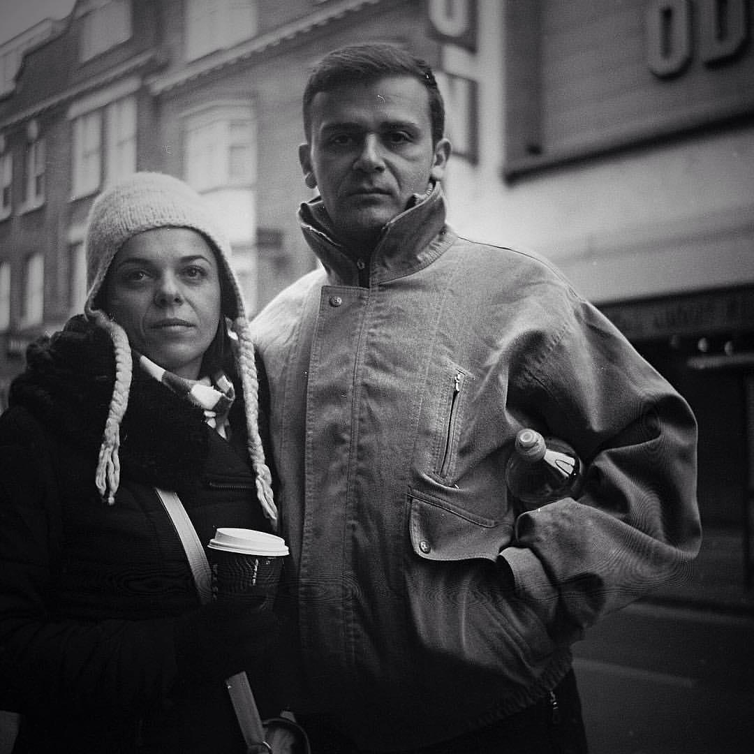 London, January. Shot to @ilfordphoto #hp5plus on my #Lomo #Lubitel 2. #believeinfilm