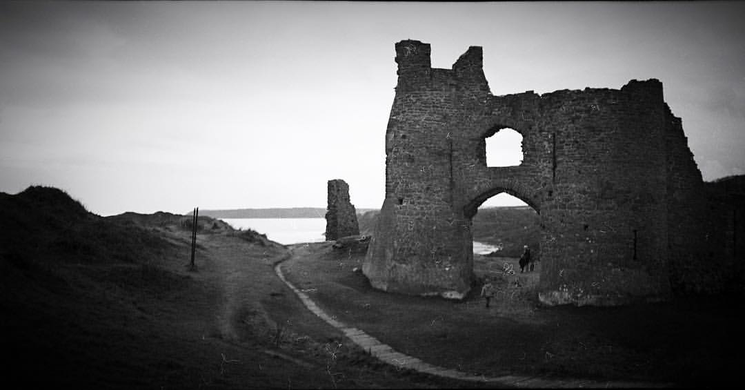 #Pennard Castle. Shot to #6x12 #MediumFormat #Film on my @lomography  #belair