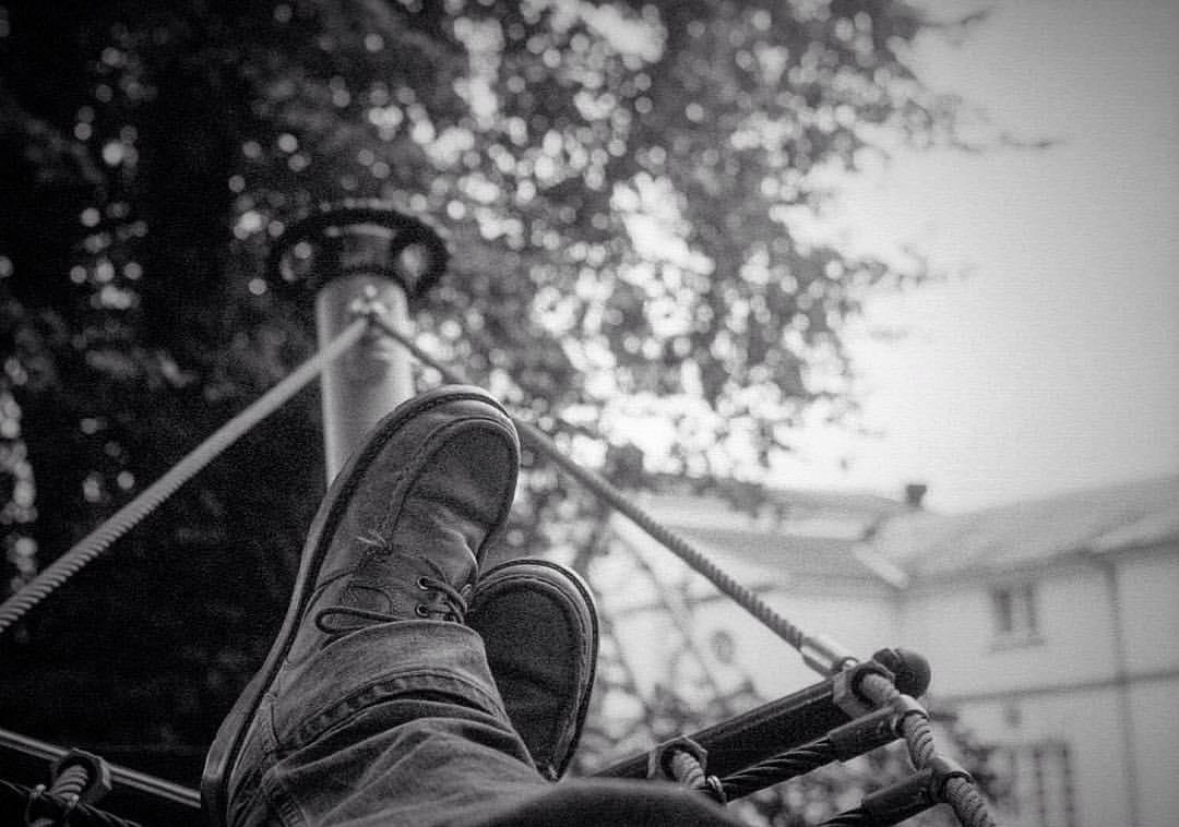 Portrait of an artist's size 11s. #bigfeet. Shot to #film on my #leica.