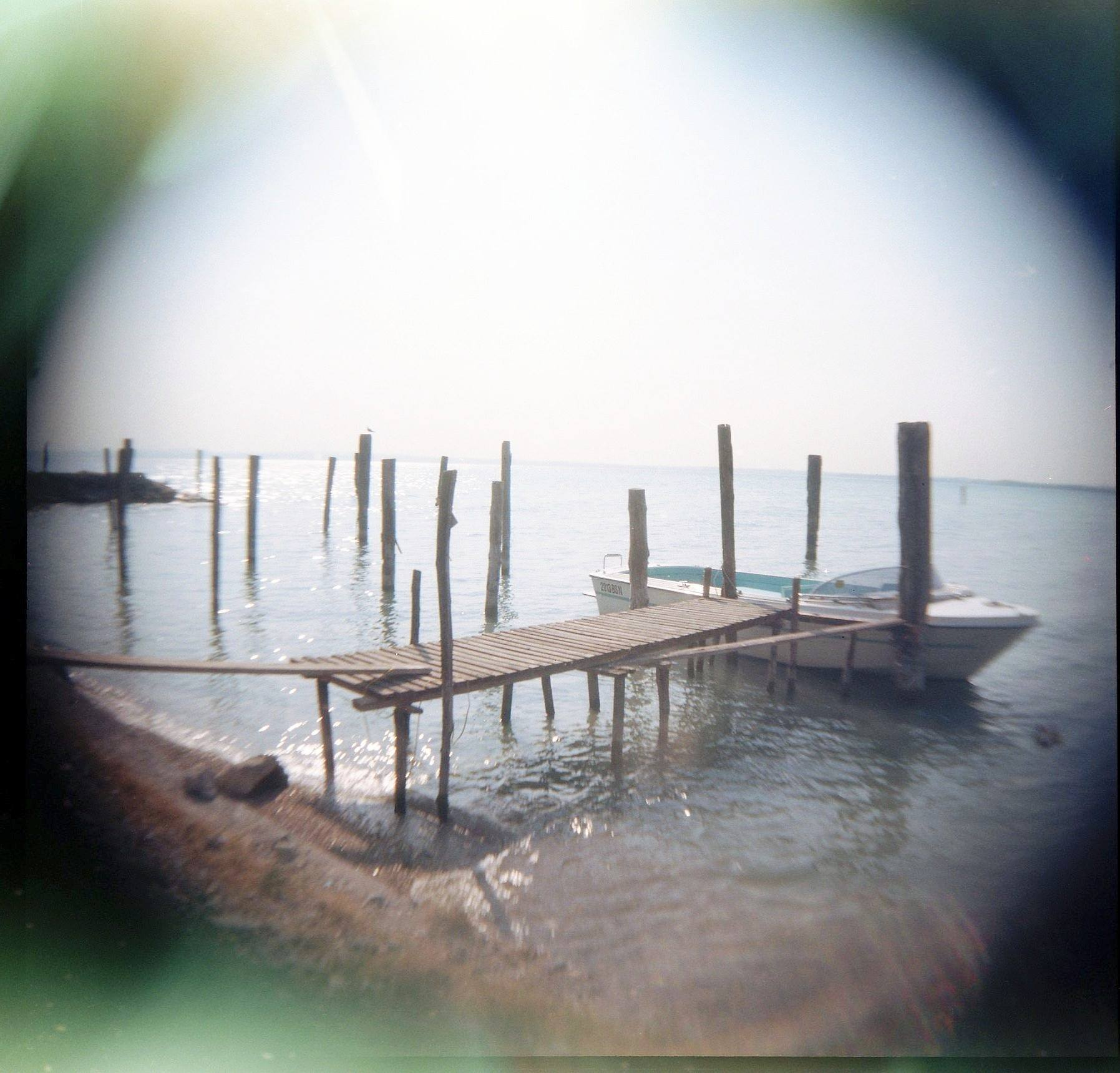 I shot this image on a Holga, a camera with no controls at all.