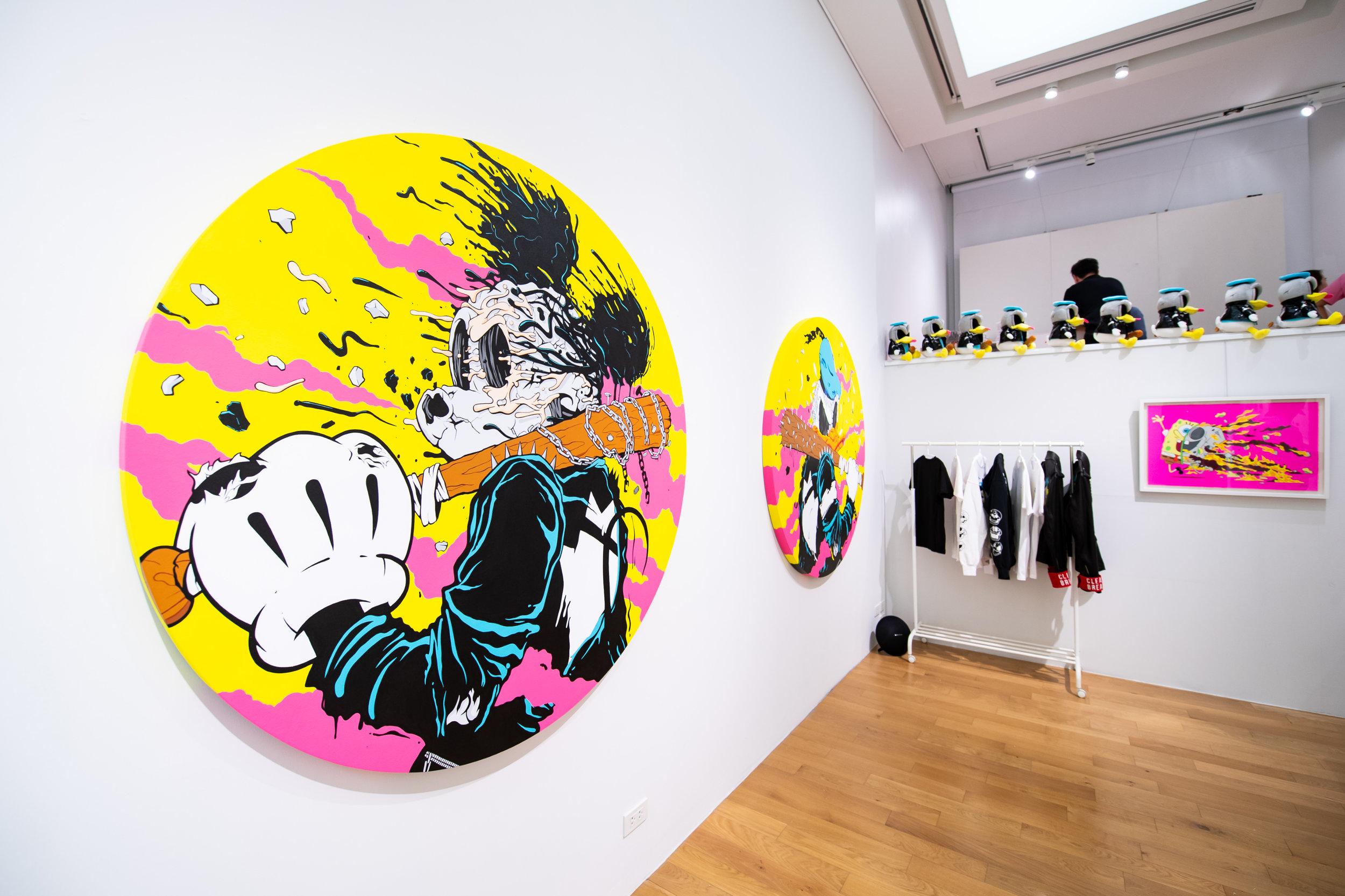 matt gondek chin's gallery opening.JPG