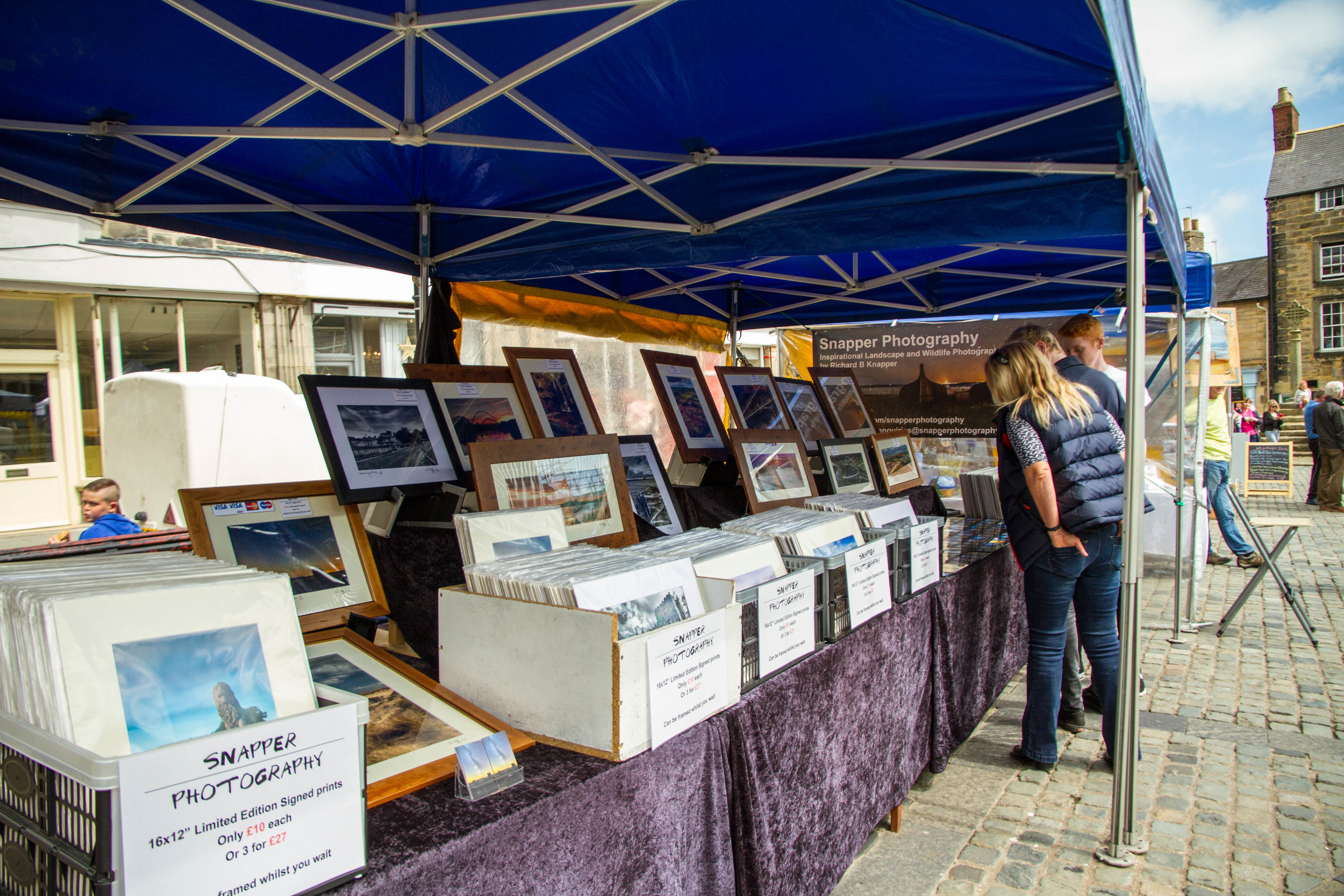 Snapper Photography at Alnwick Market