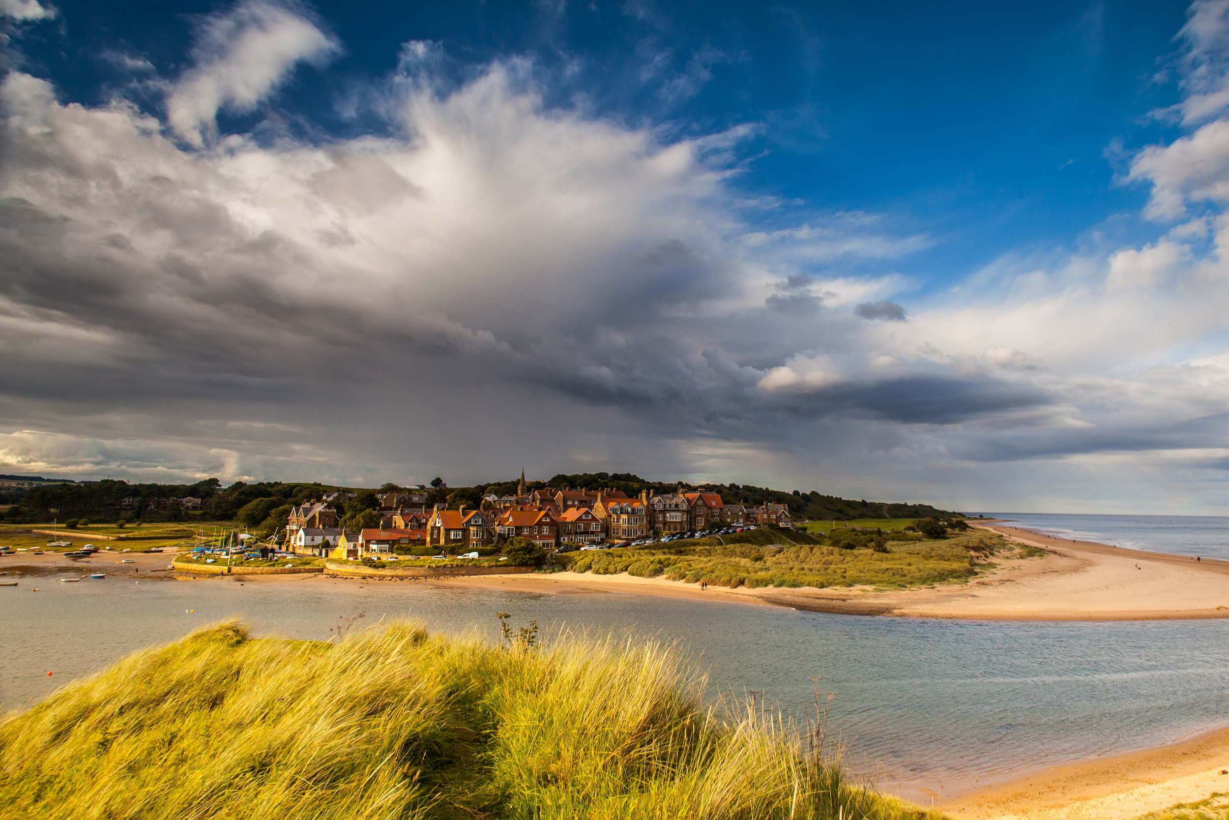 Summer Storm over Alnmouth