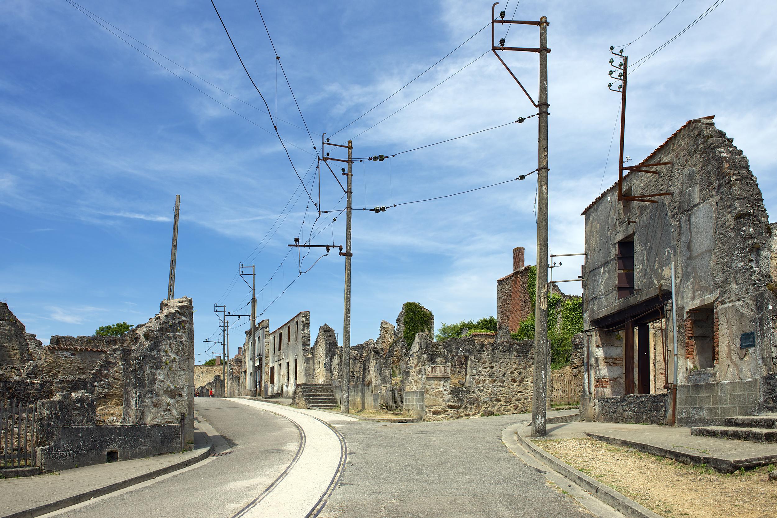 Oradour-sur-Glane, Limousin, France  | June 22, 2014