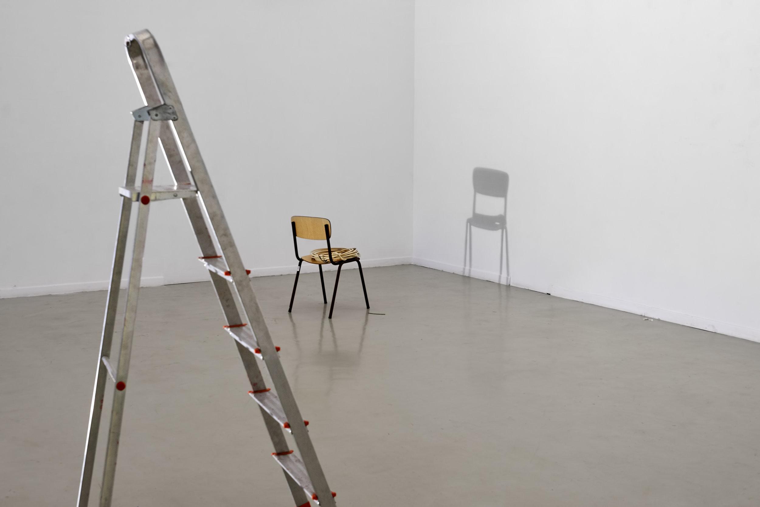 Preparing exhibition space (#1)