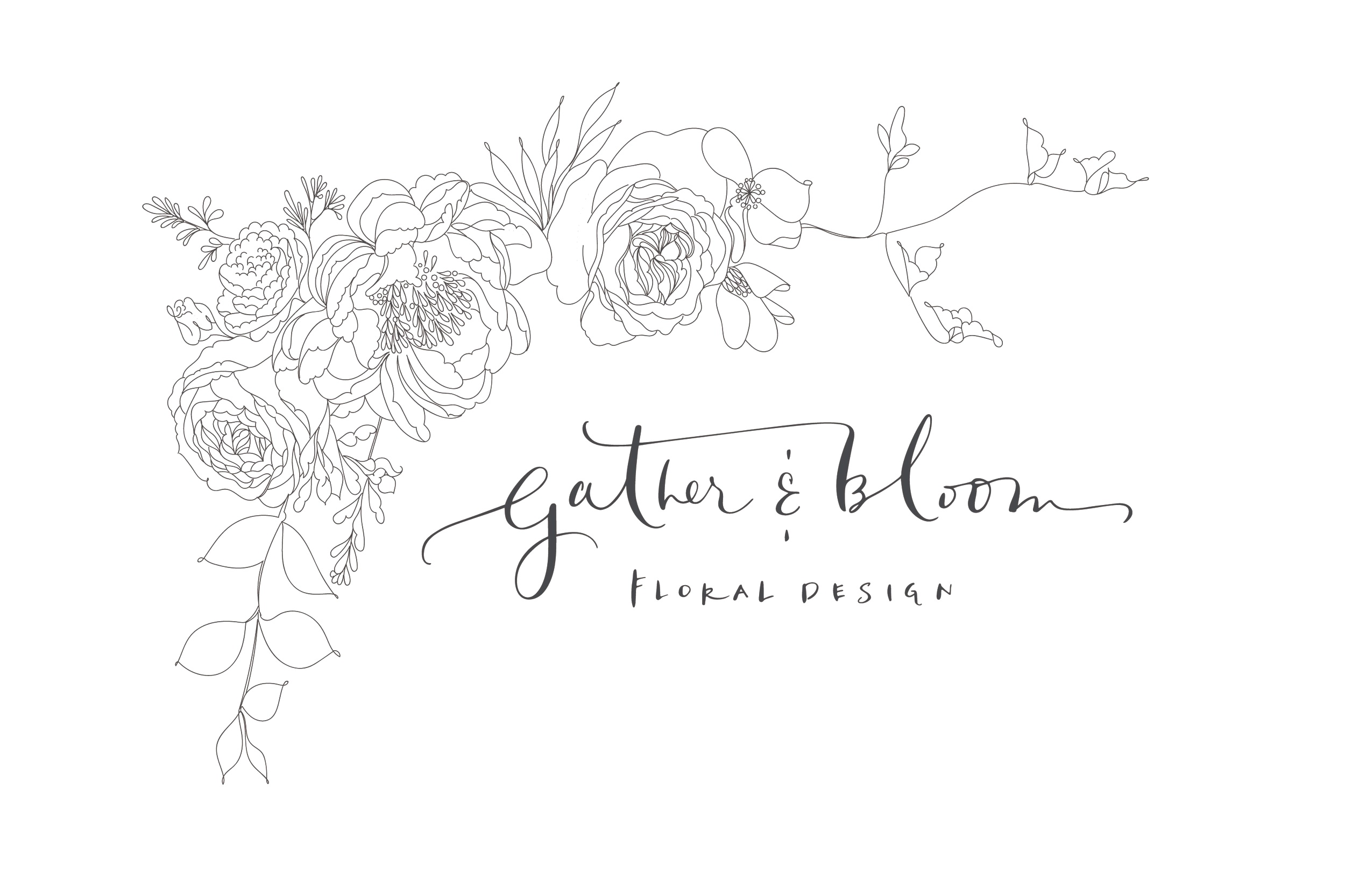 Gather&Bloom logo