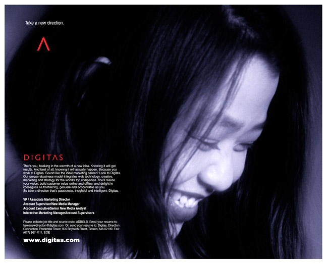 Digitas - Hong Kong Recruiting Ad