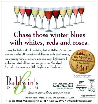 Baldwin's on Elm - Print Ad