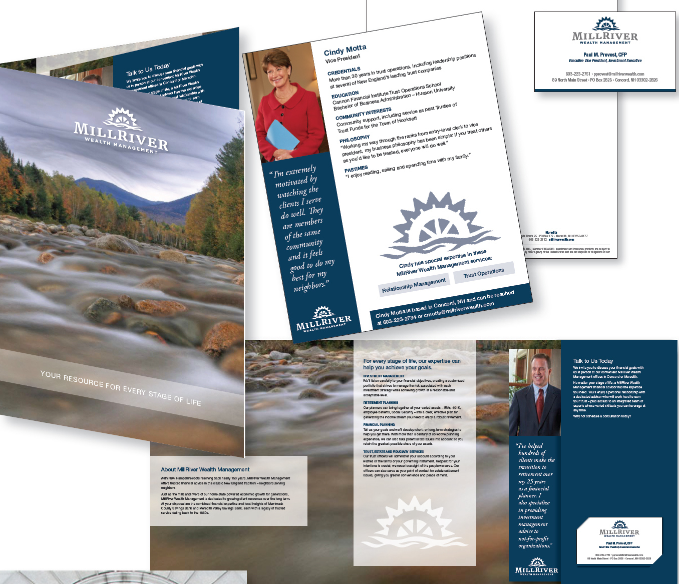 MillRiver Wealth Management - Identity Package