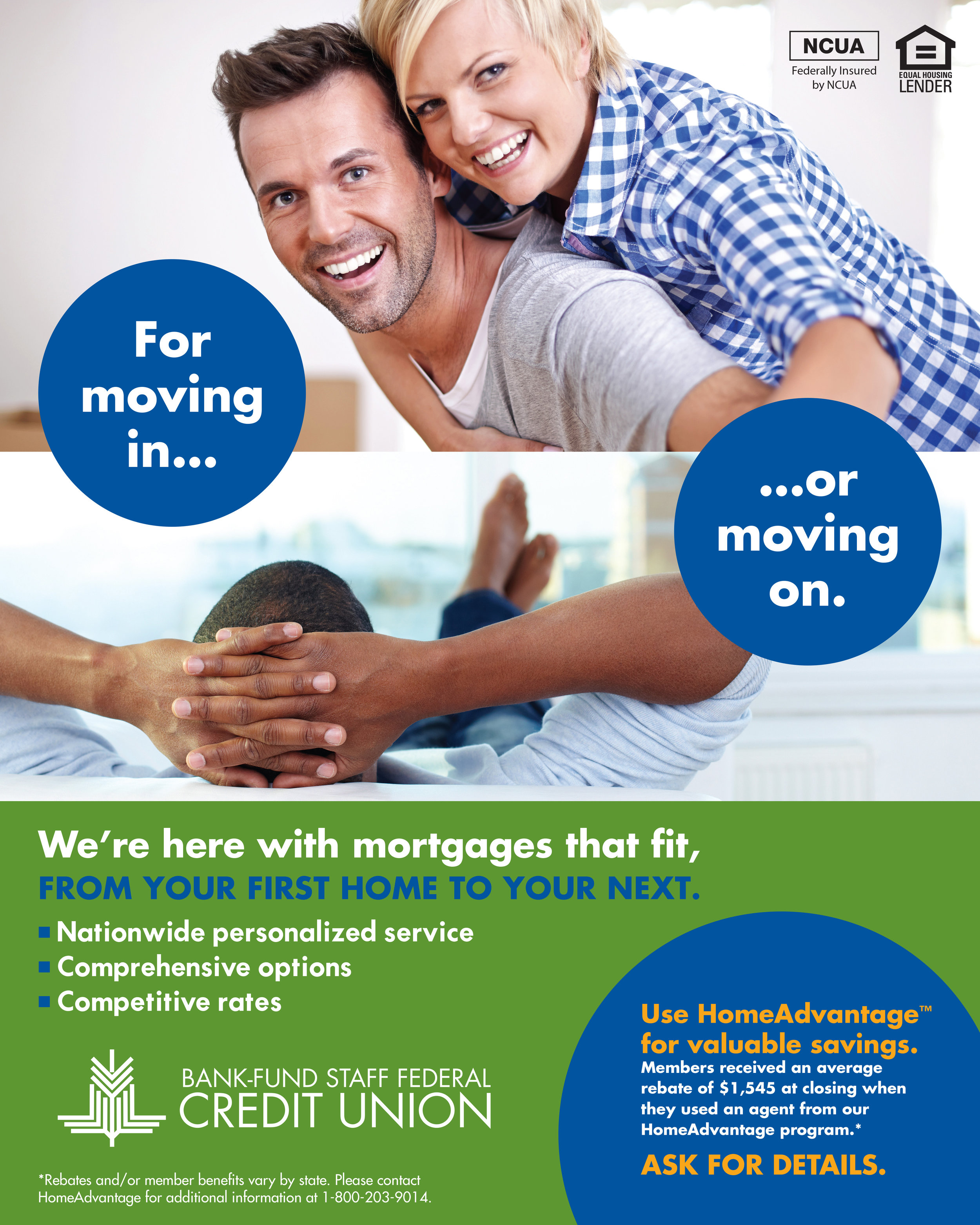 Bank-Fund Staff FCU - Mortgage Ad