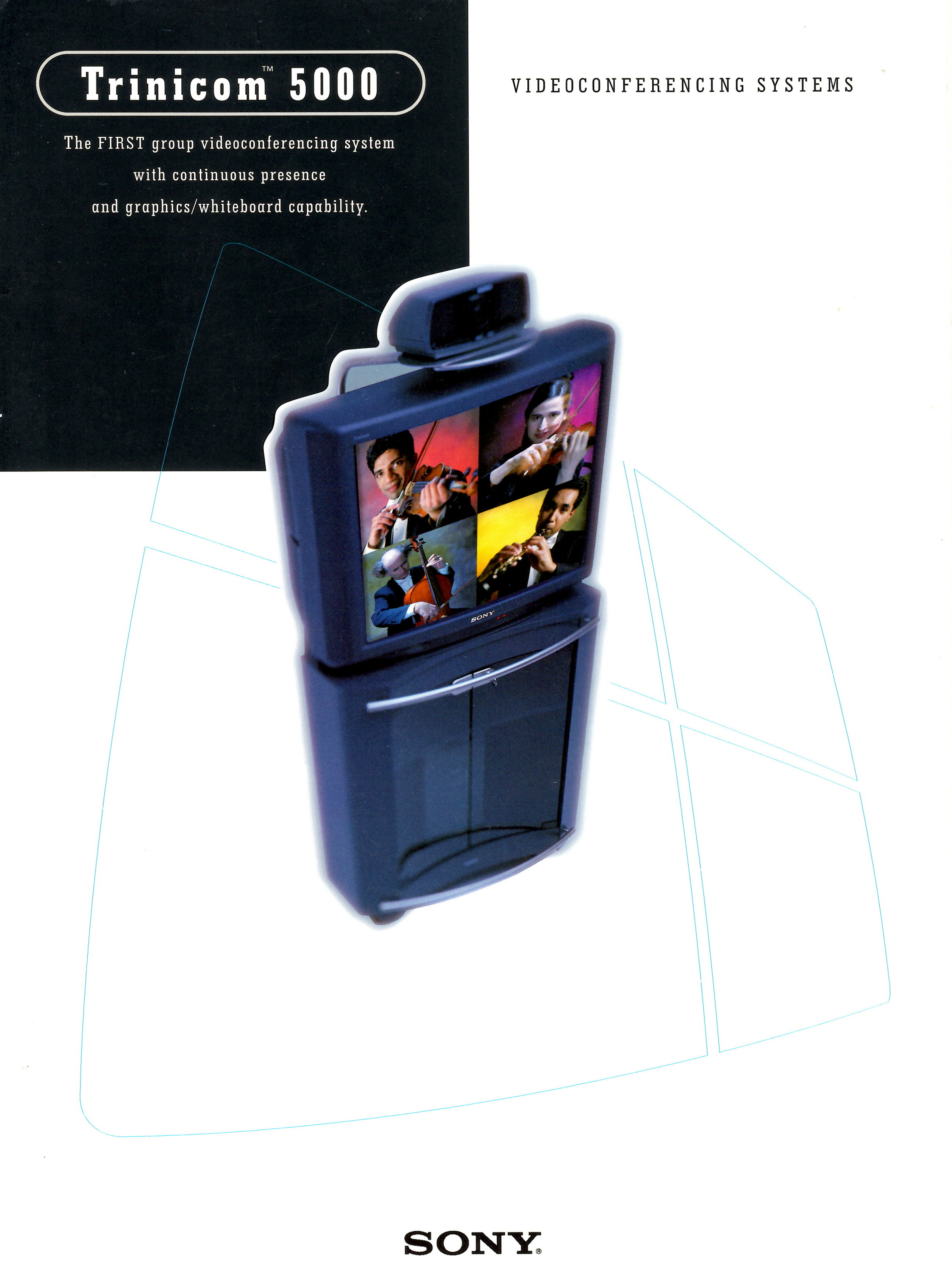 Sony Europe - Trinicom 5000 Brochure