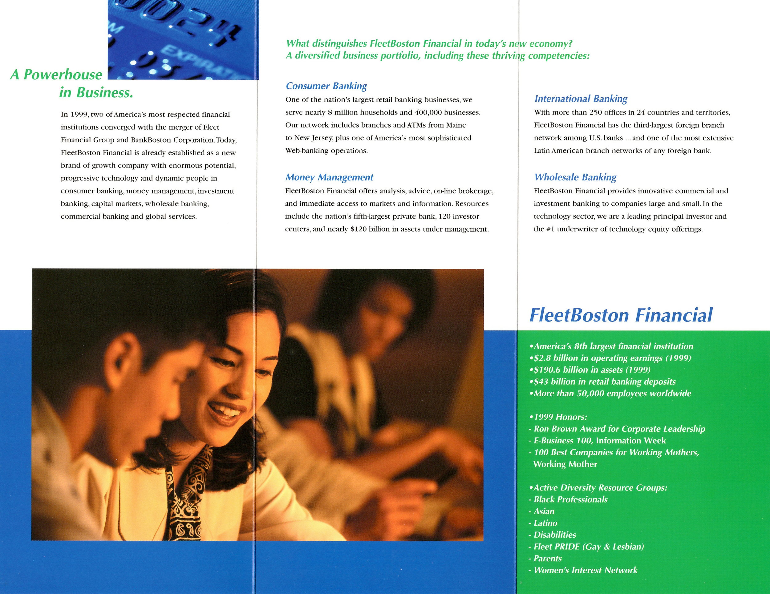 FleetBoston - Diversity Brochure