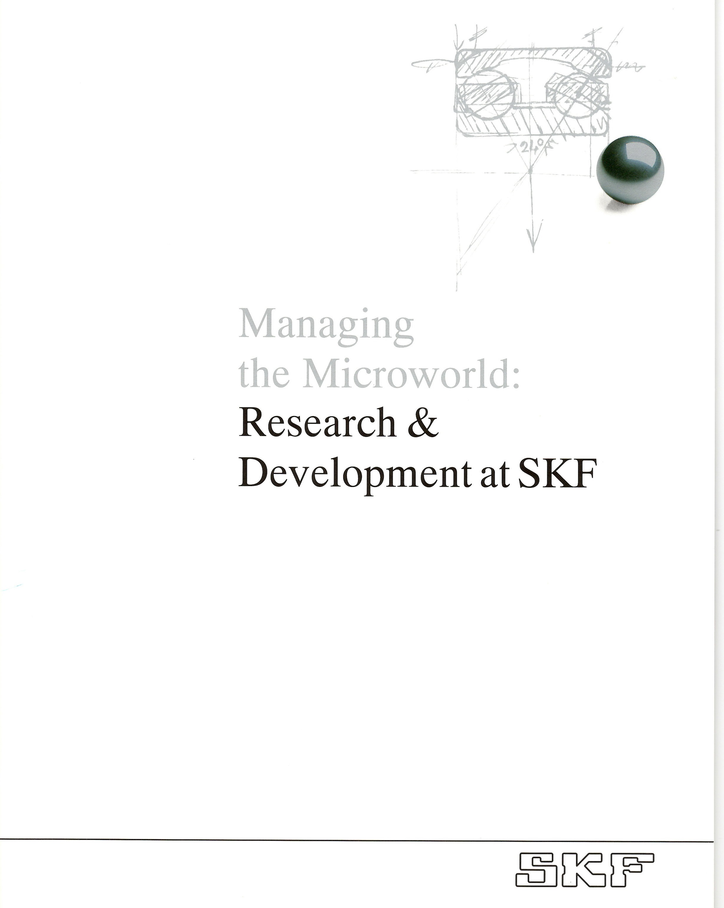 Research and Development Brochure (Detail Below)