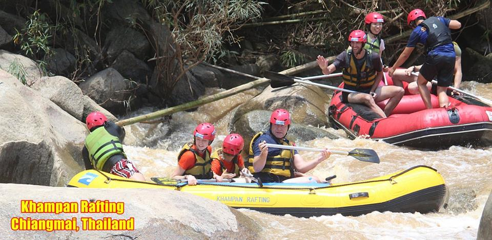 PM Tours Khampan Rafting Chiang Mai