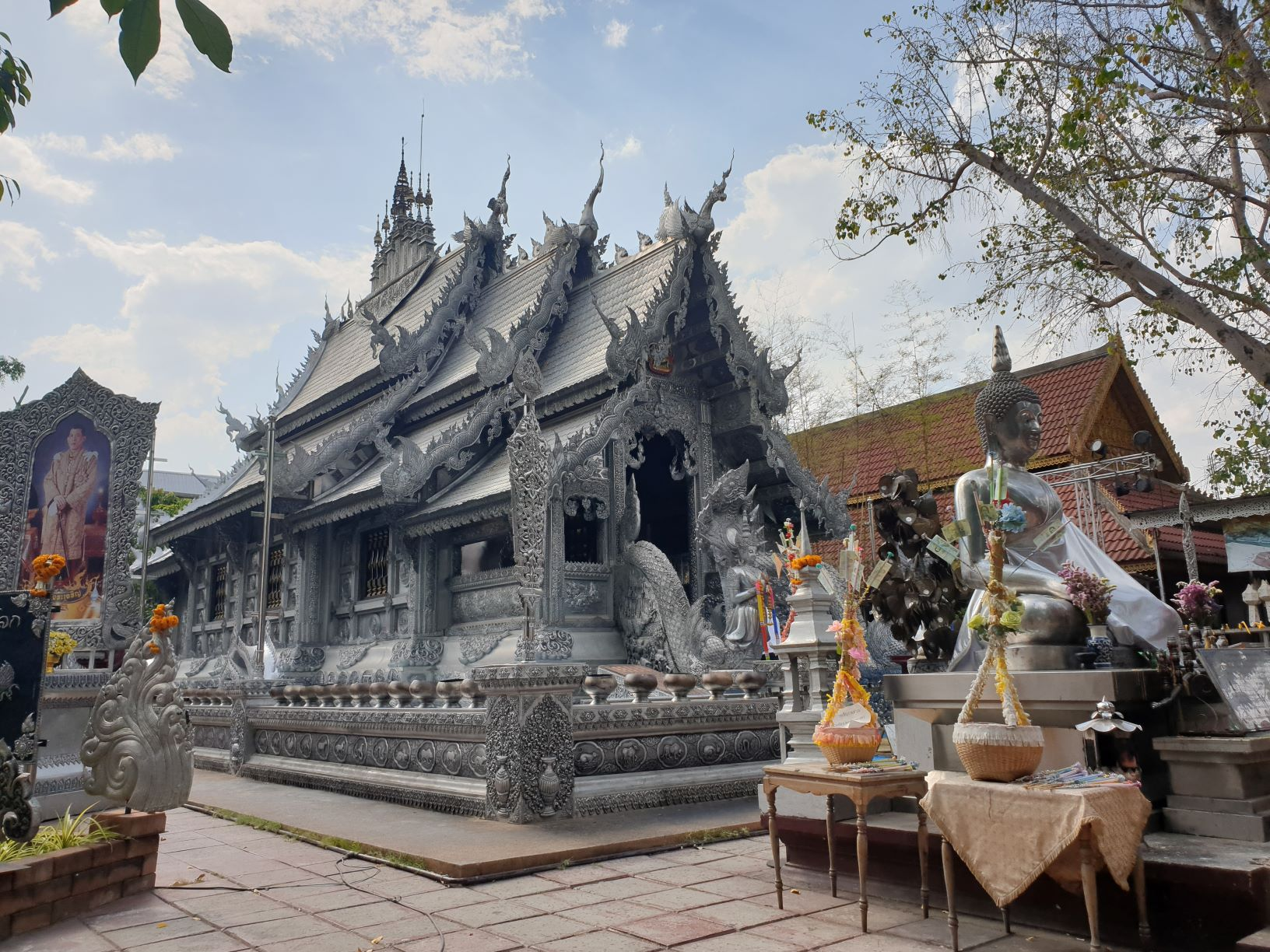 Wat Sri Suphan, Silver Temple