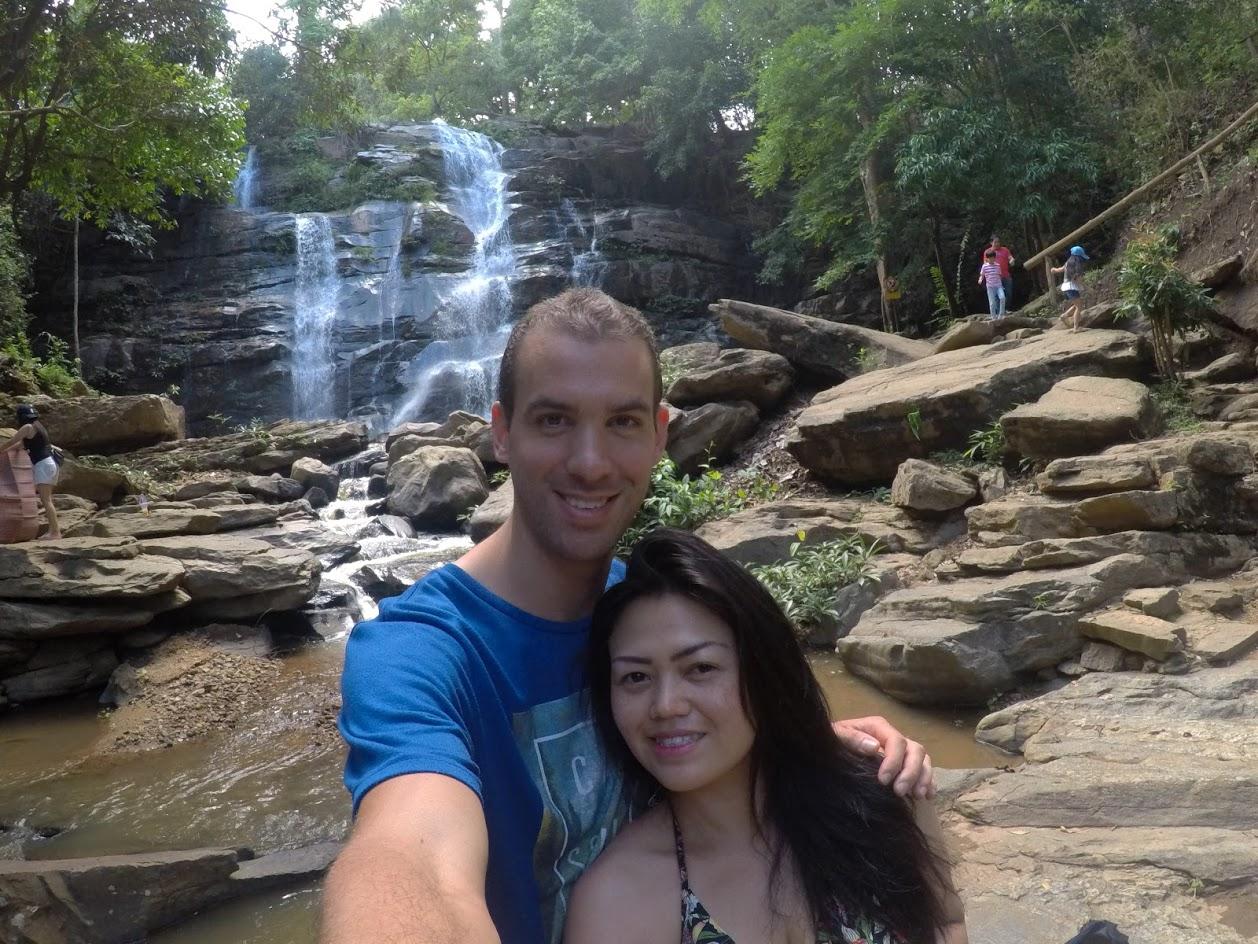 Tad Mork Waterfall Chiang Mai