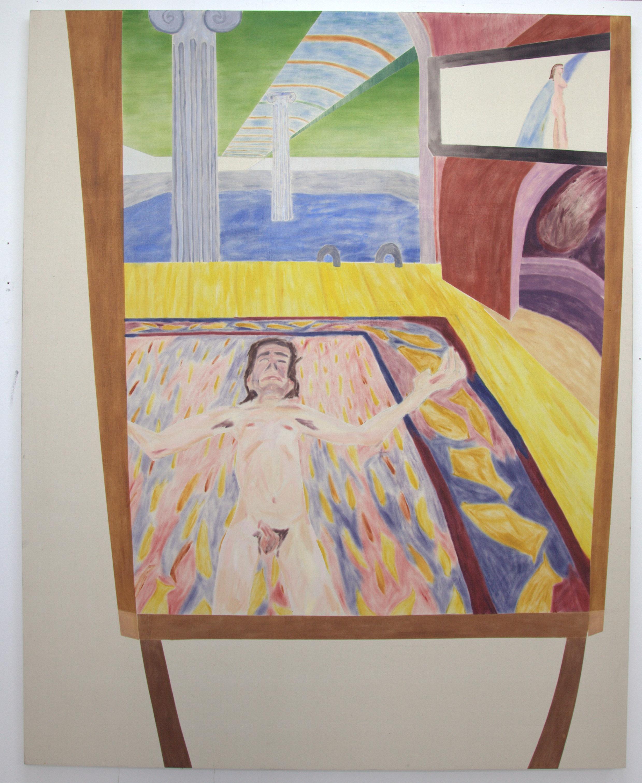 Oil on Canvas  190/140 cm  2017