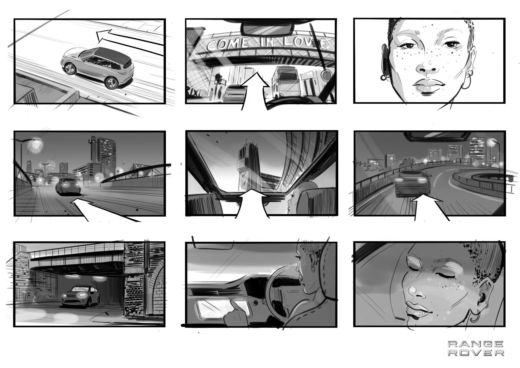 Richard Buxton Storyboard Artist