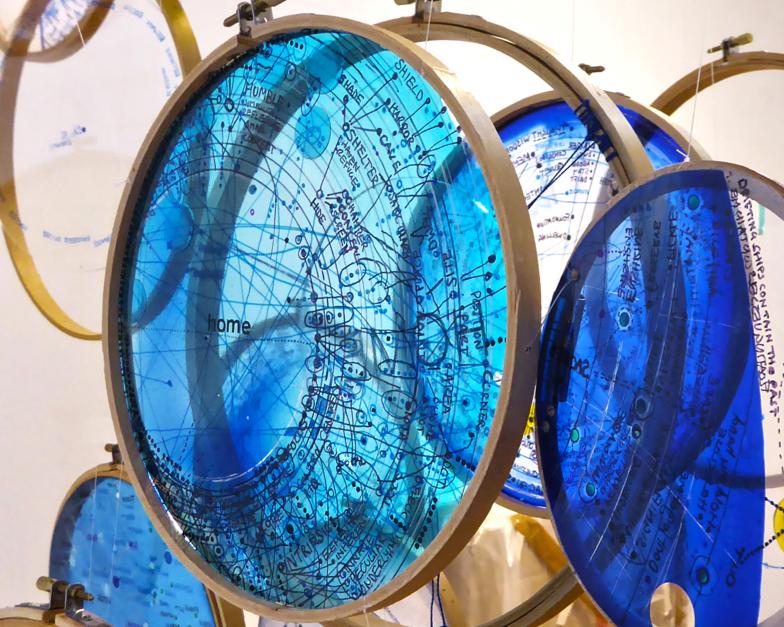 Constellation (exhibition view), Nicola Anthony, 2015, UK