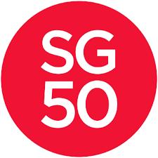 SG50 Logo Nicola Anthony