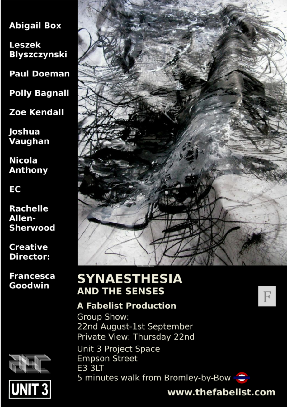 Synaesthesia and the Senses
