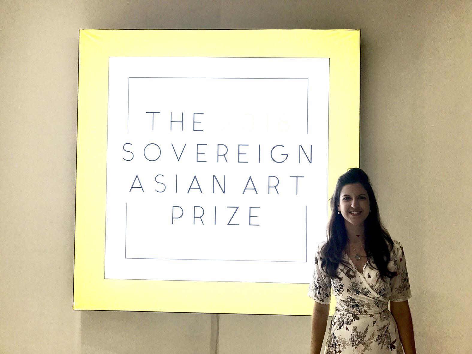Nicola Anthony at Sovereign Art Foundation, Hong Kong