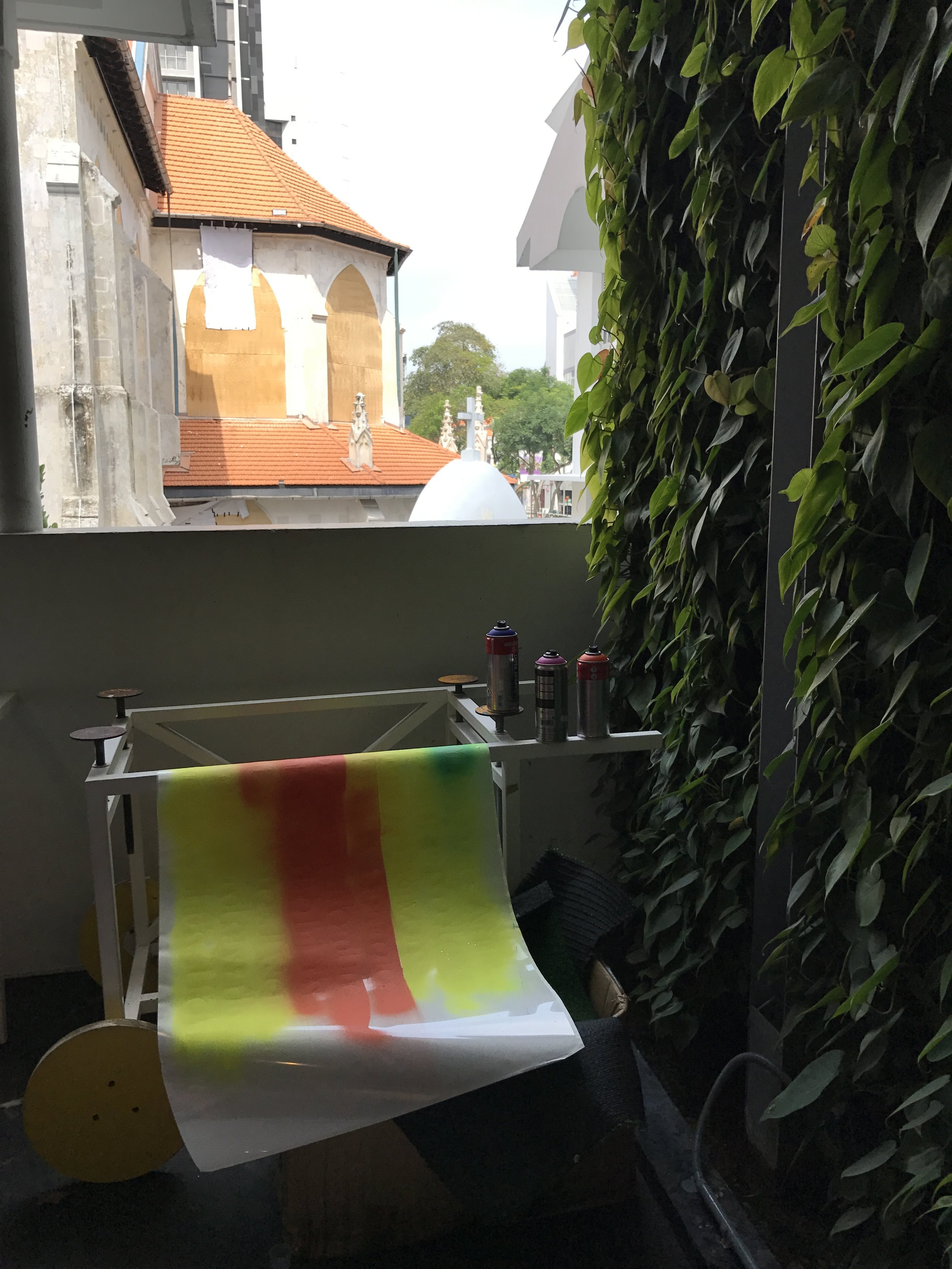 Unexpected Happiness NDC Residency (WIPPs) Artist Nicola Anthony 2018