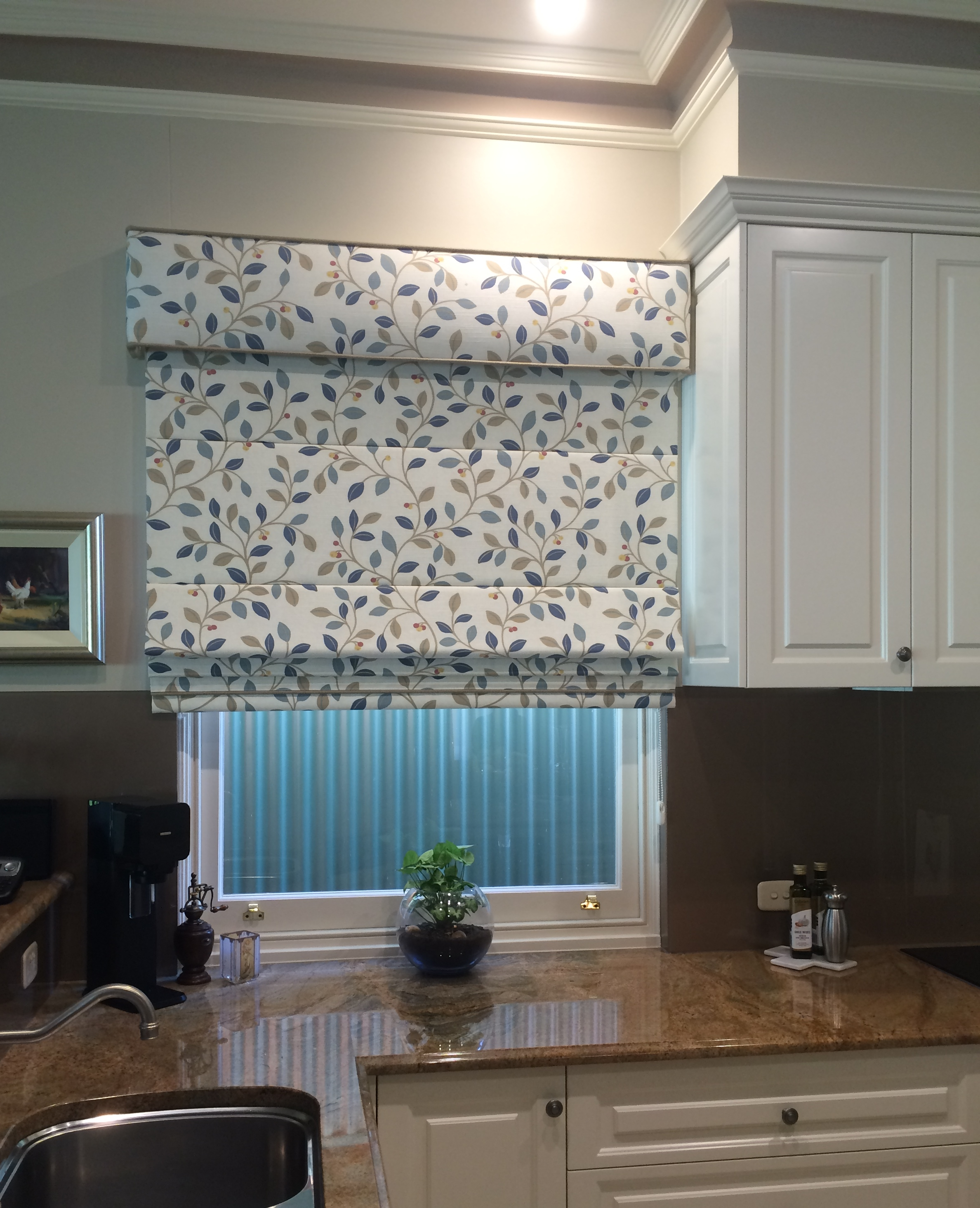 Kitchen Roman Blind