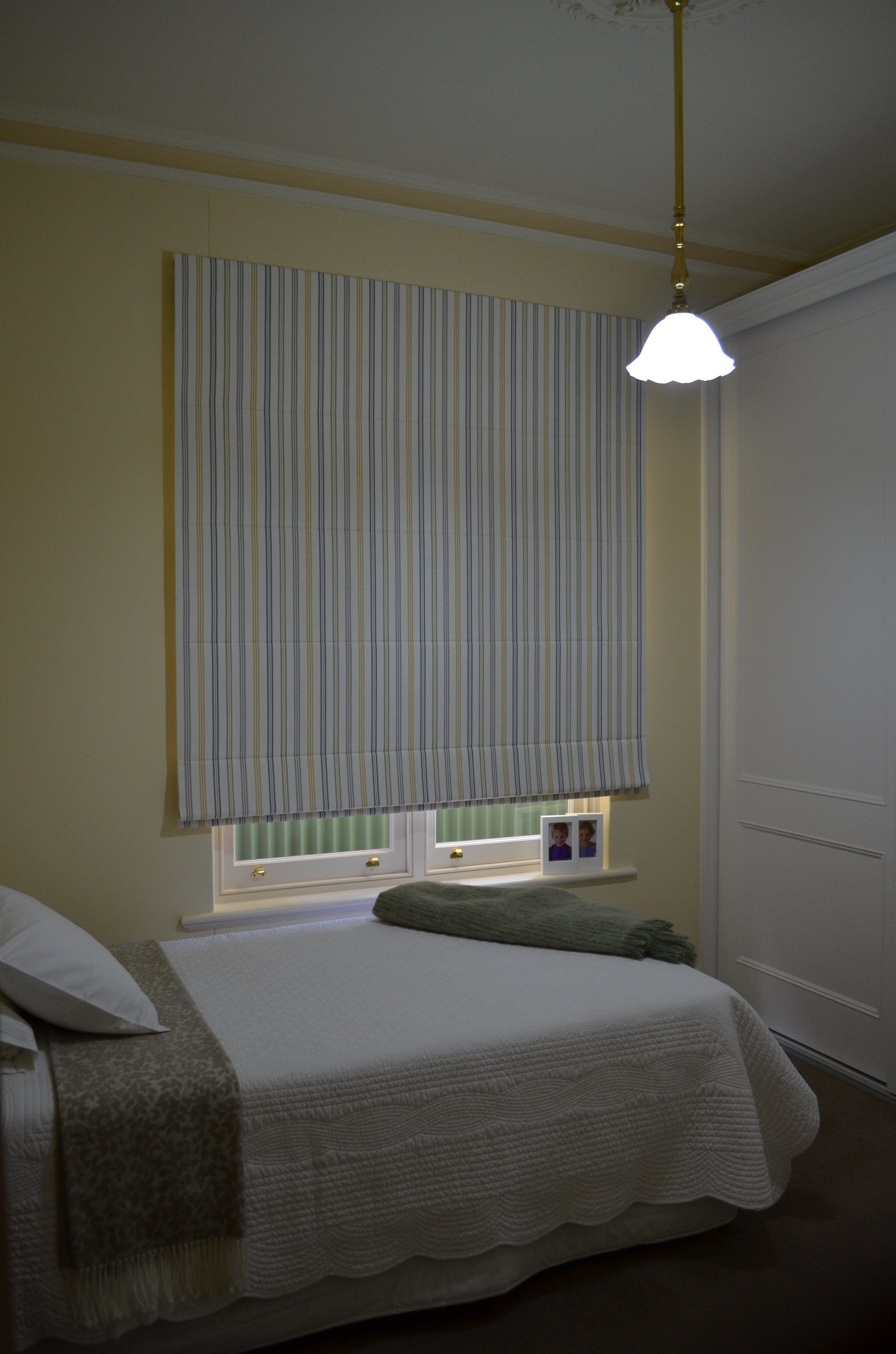 Spare Bedroom roman Blind