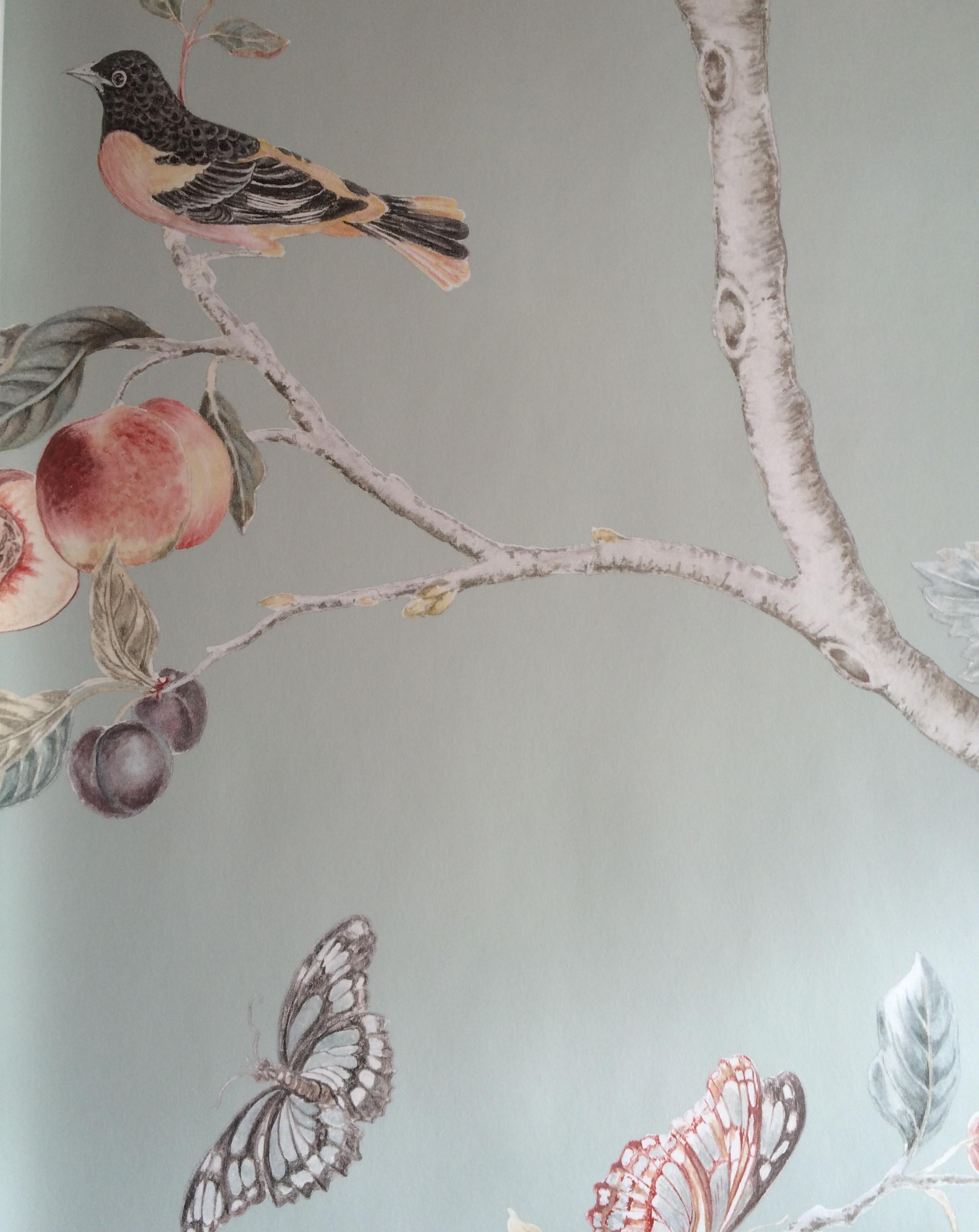 Fruit Aviary wallaper