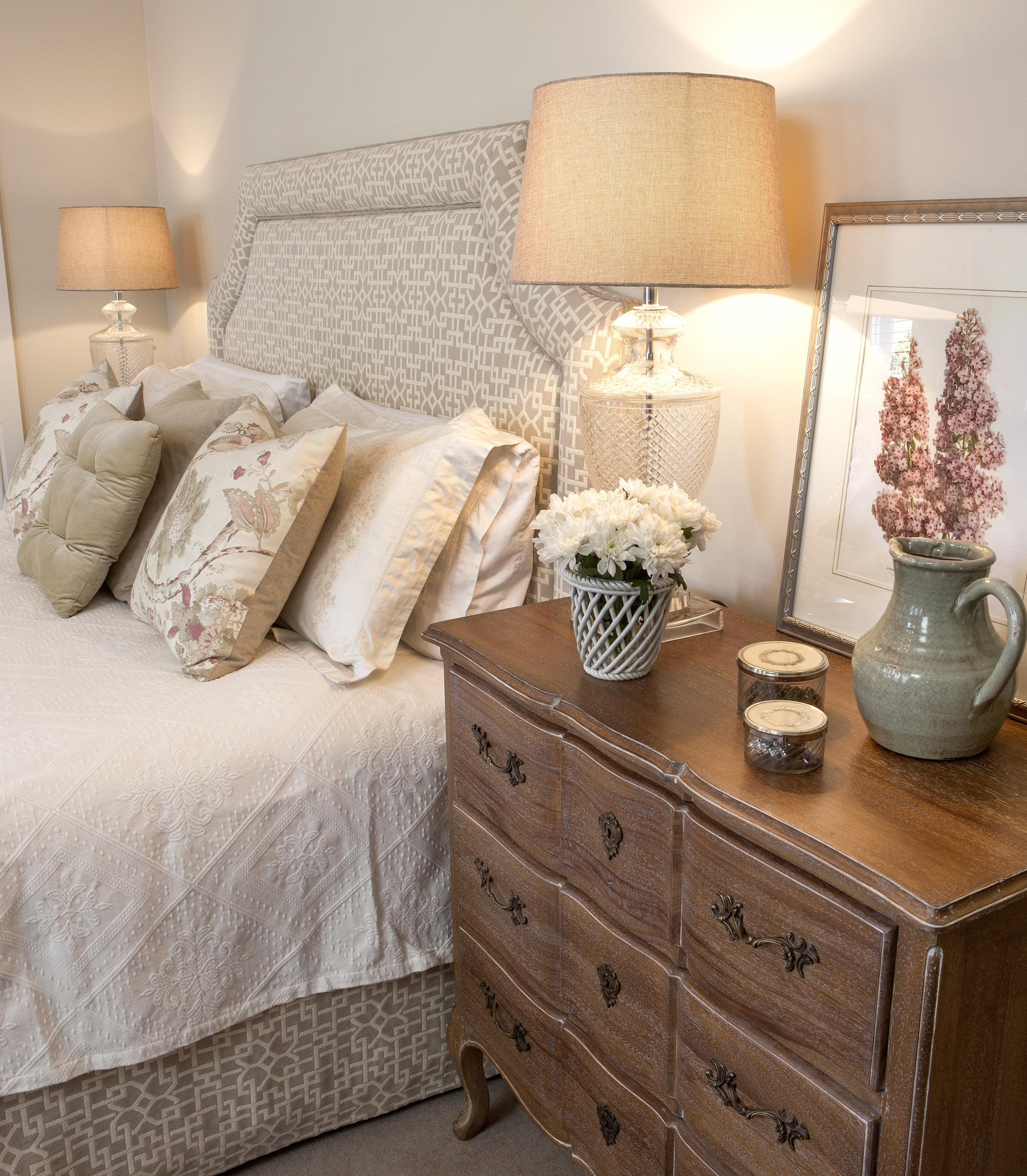 Carrie Deverson Interiors, Bedroom , Upholstered Bedhead.jpg
