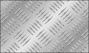 Aluminium Checkered Plate - Five Bar