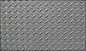 Aluminium Checkered Plate - 5 Bar, Diamond, Teardrop