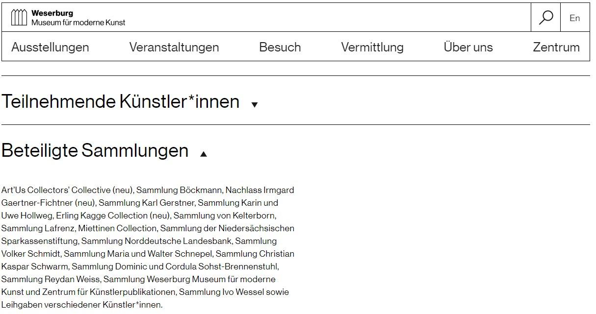 Weserburg - So wie wir sind - Beteiligte Sammlungen.jpg