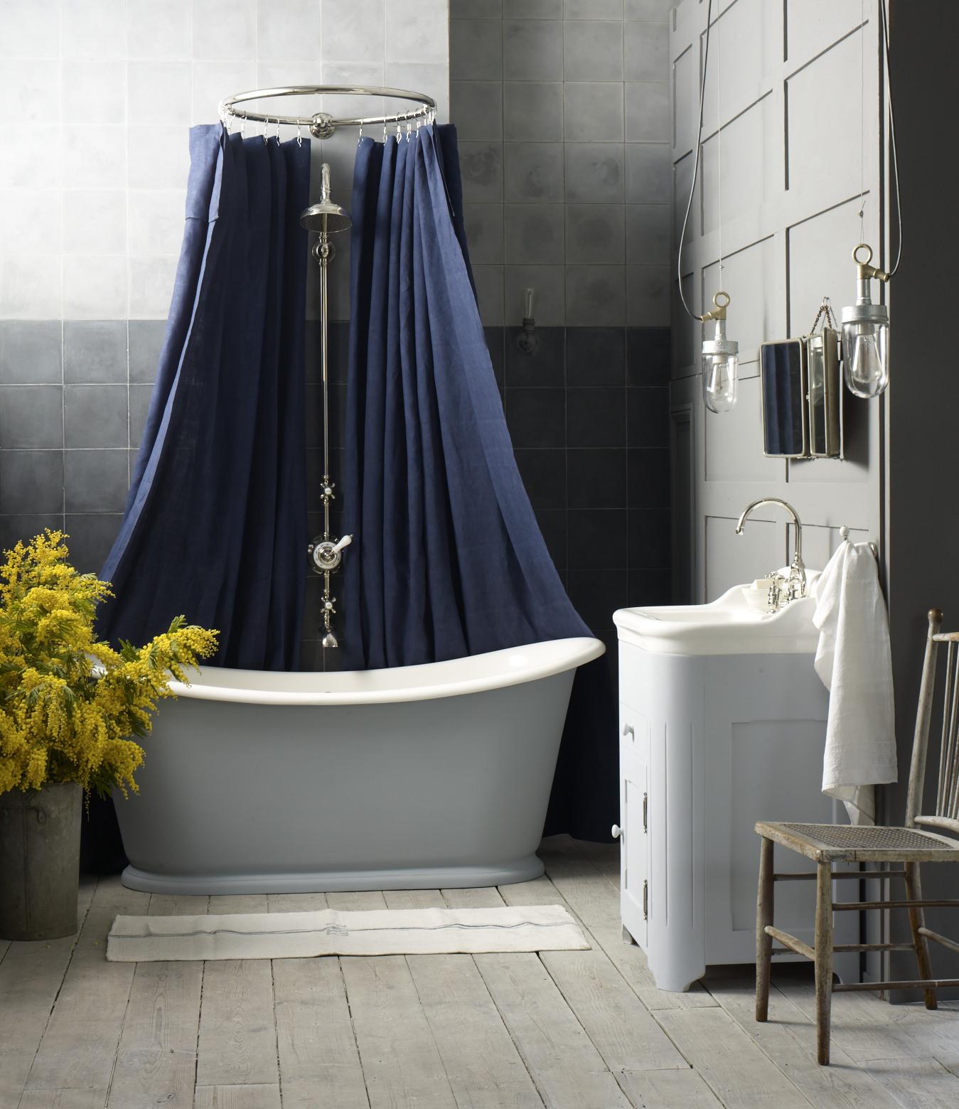 Painted Bateau bath and cabinet basin..jpg