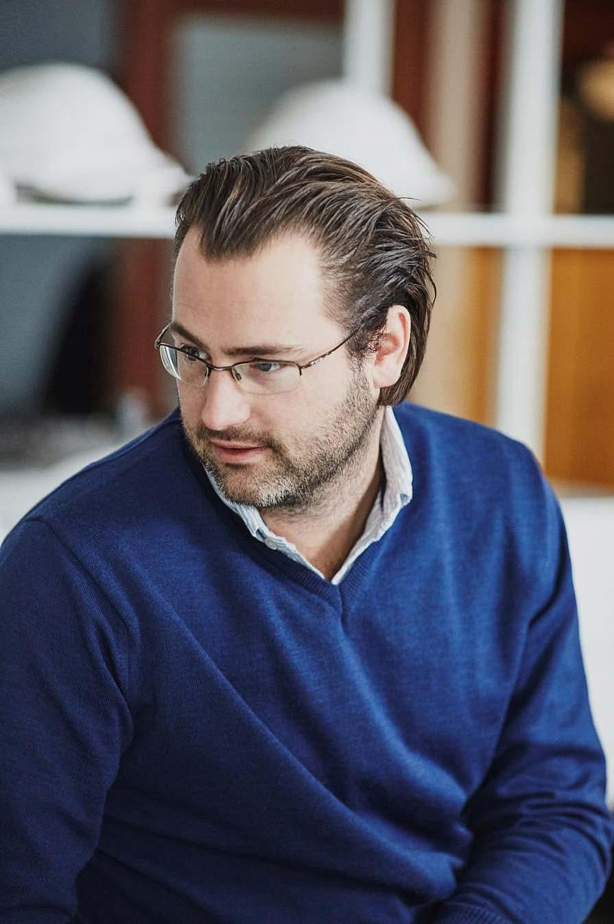 Christian Fredrik Morgenstierne, Daglig leder Wood arkitektur + design