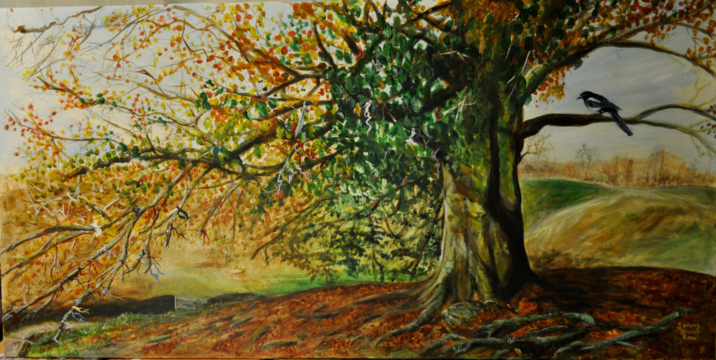 Tree of Expectations Acrylic on Canvas80x 123cm