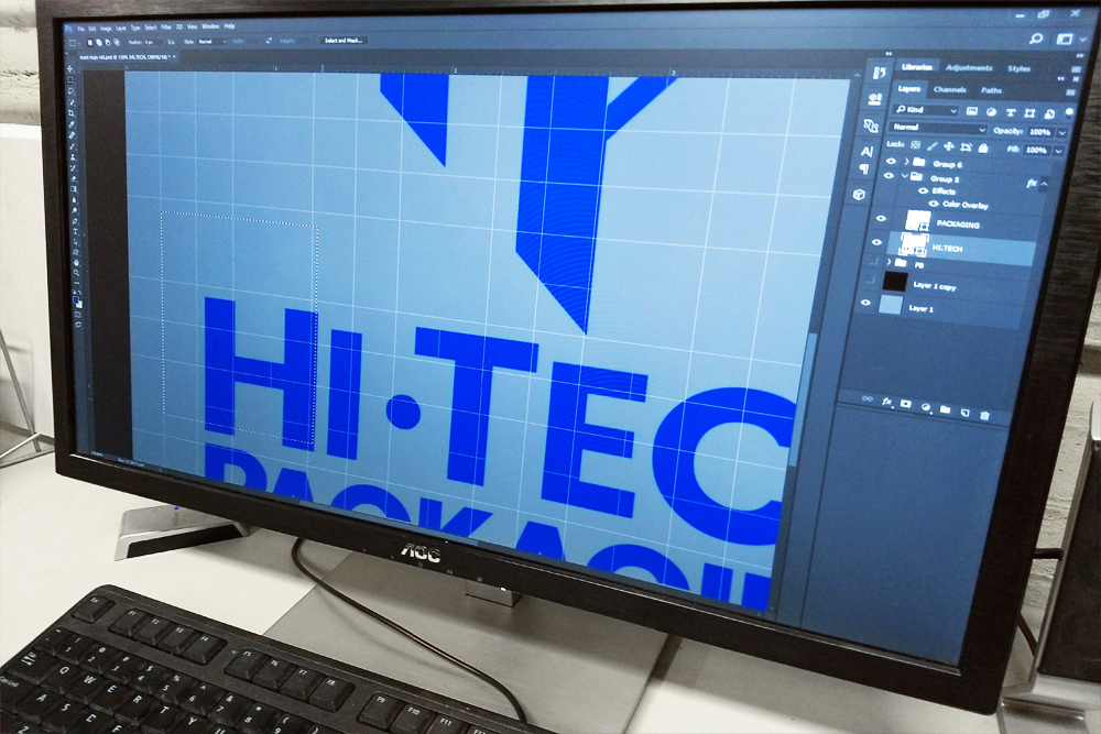 Custom Design & Printing - Signs and displays with your company graphics; or, we can work with you to design original graphics to make your product stand out.